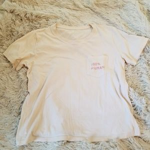 Everlane 100% Human pocket tee small